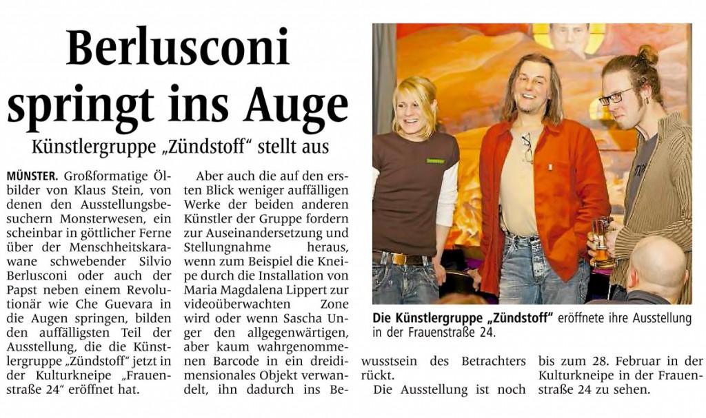 Pressebeitrag Münsterischer Anzeiger
