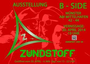 Plakat B-SIDE 2014